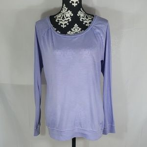 Pink by VS long sleeve top size Medium